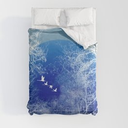 winter day Comforters