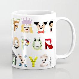 Oz-abet (an Oz Alphabet) Coffee Mug