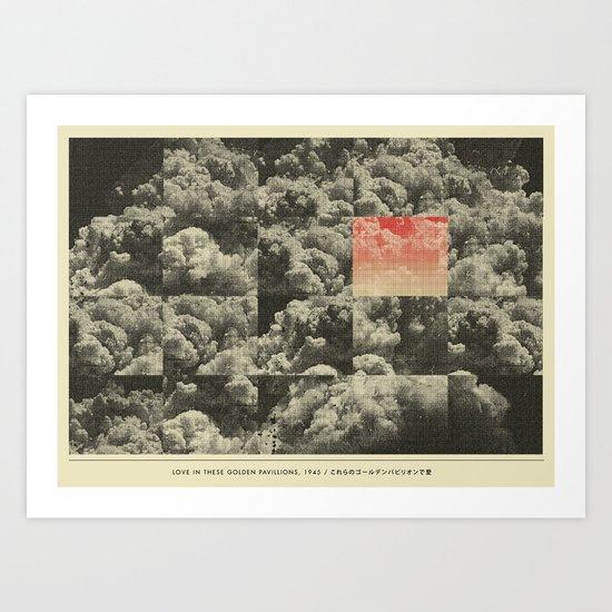Love in These Golden Pavillions, 1945 Art Print