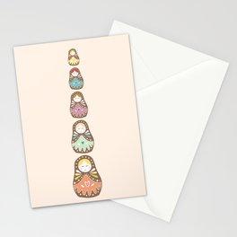 Matryoshka Madames Stationery Cards