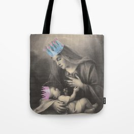 Religion. Mary & Child Tote Bag