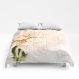 Vanilla Truffle Dahlia Comforters