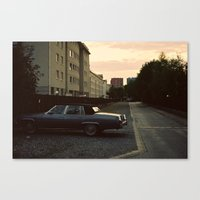 car Canvas Prints featuring car by Martyna Syrek