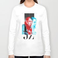 jay z Long Sleeve T-shirts featuring JAY-Z by michael pfister