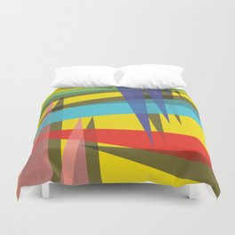 Ambient 19 yellow Duvet Cover