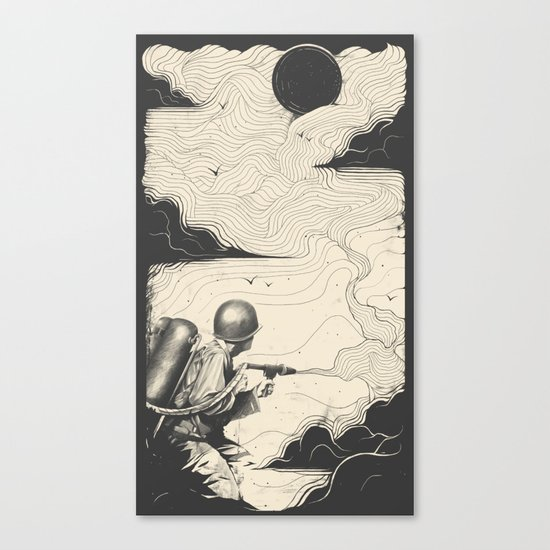 Sky Thrower Canvas Print