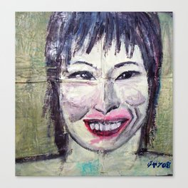 SISTER OF MISS ZHU Canvas Print