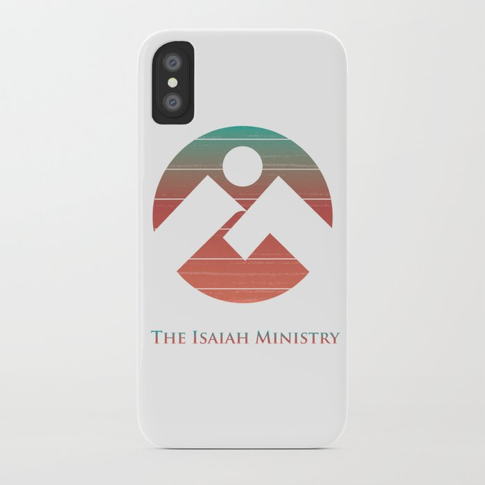 The Isaiah Ministry Logo iPhone Case