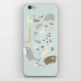 Animalphabet iPhone Skin