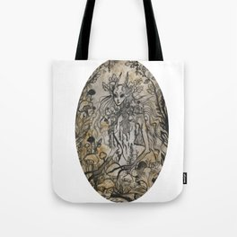 Mushroom Nymph Tote Bag