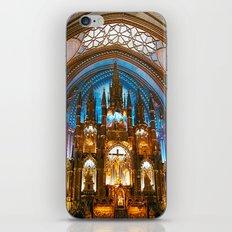 Inside Montreal's most beautiful church iPhone & iPod Skin