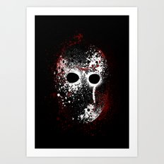 Happy Friday the 13th Art Print