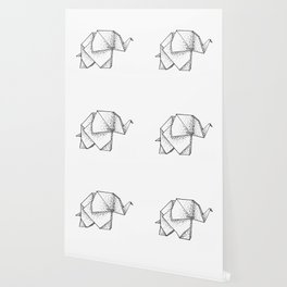 Origami Elephant Wallpaper