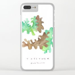 Matisse Inspired   Becoming Series    Together Clear iPhone Case