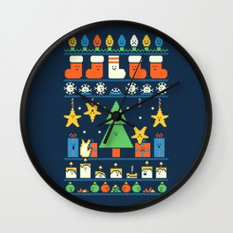 Merry Christmess Wall Clock