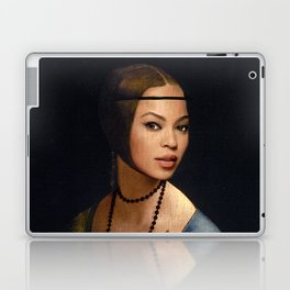Bey Plays with the Family Ferret Laptop & iPad Skin
