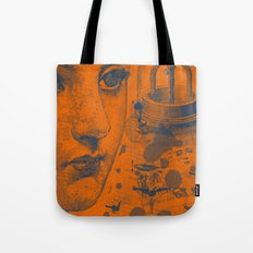 Looking Down the Wishing Well Tote Bag