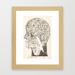 First one said yes Framed Art Print