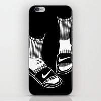 nike iPhone & iPod Skins featuring NIKE by Anna Berger