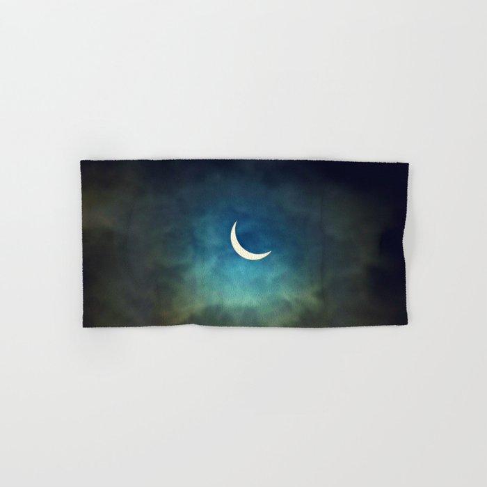 Solar Eclipse 1 Hand & Bath Towel