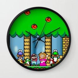 Super Mario World Wall Clock