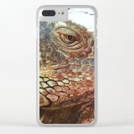 Grin from scale to scale Clear iPhone Case