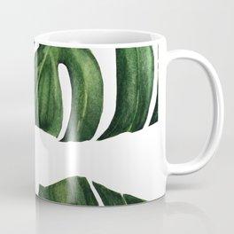 Monstera watercolor painting, handmade painting, watercolour, original paint, Coffee Mug