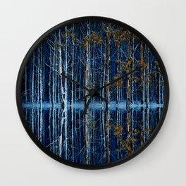 FOREST FLOOD Wall Clock
