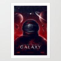 Super Mario Galaxy Art Print