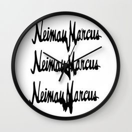 NM Drip (black only) Wall Clock