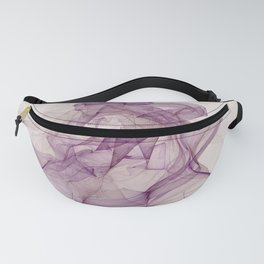 Woman With Hat Abstract Fractal Art Fanny Pack