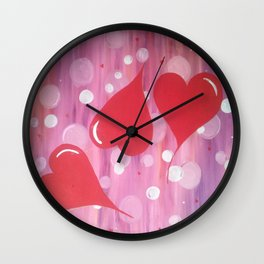 IT'S ALL ABOUT THE HEART Wall Clock