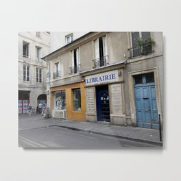 Afternoon in Le Marais, Paris Metal Print