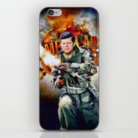 jfk iPhone & iPod Skins featuring Zombieland: JFK by Richard Michaud