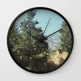 The Trees - Retro n' Chill Wall Clock