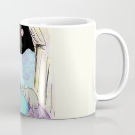 alien camping Coffee Mug