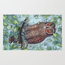Forest Owl Rug