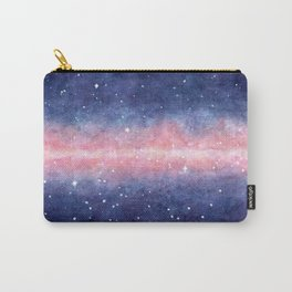 Watercolor Space Carry-All Pouch