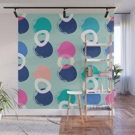 Brush Strokes Fun Pattern Wall Mural