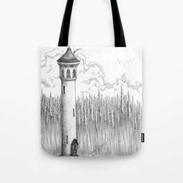 Tall Tower Tote Bag