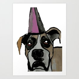 The way you wear your hat. Art Print