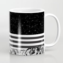 Lion in Space Coffee Mug