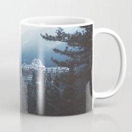 Snowfall in Banff Coffee Mug
