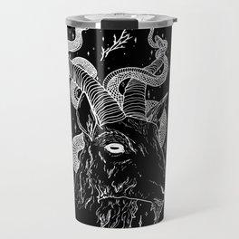 Goat God Travel Mug