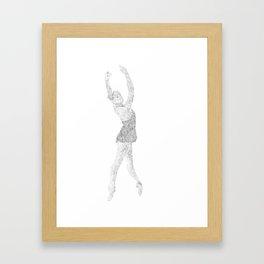 Dancing Figures Framed Art Print