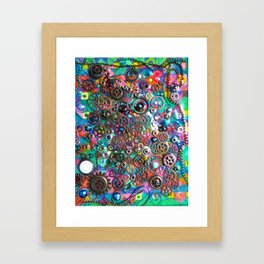 Chase the Gears Framed Art Print