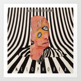 Melophobia Art Print