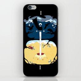 Ace of Swords iPhone Skin