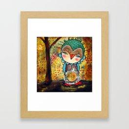 Autumn Wind Framed Art Print