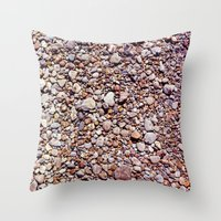 rocky Throw Pillows featuring rocky by jmdphoto